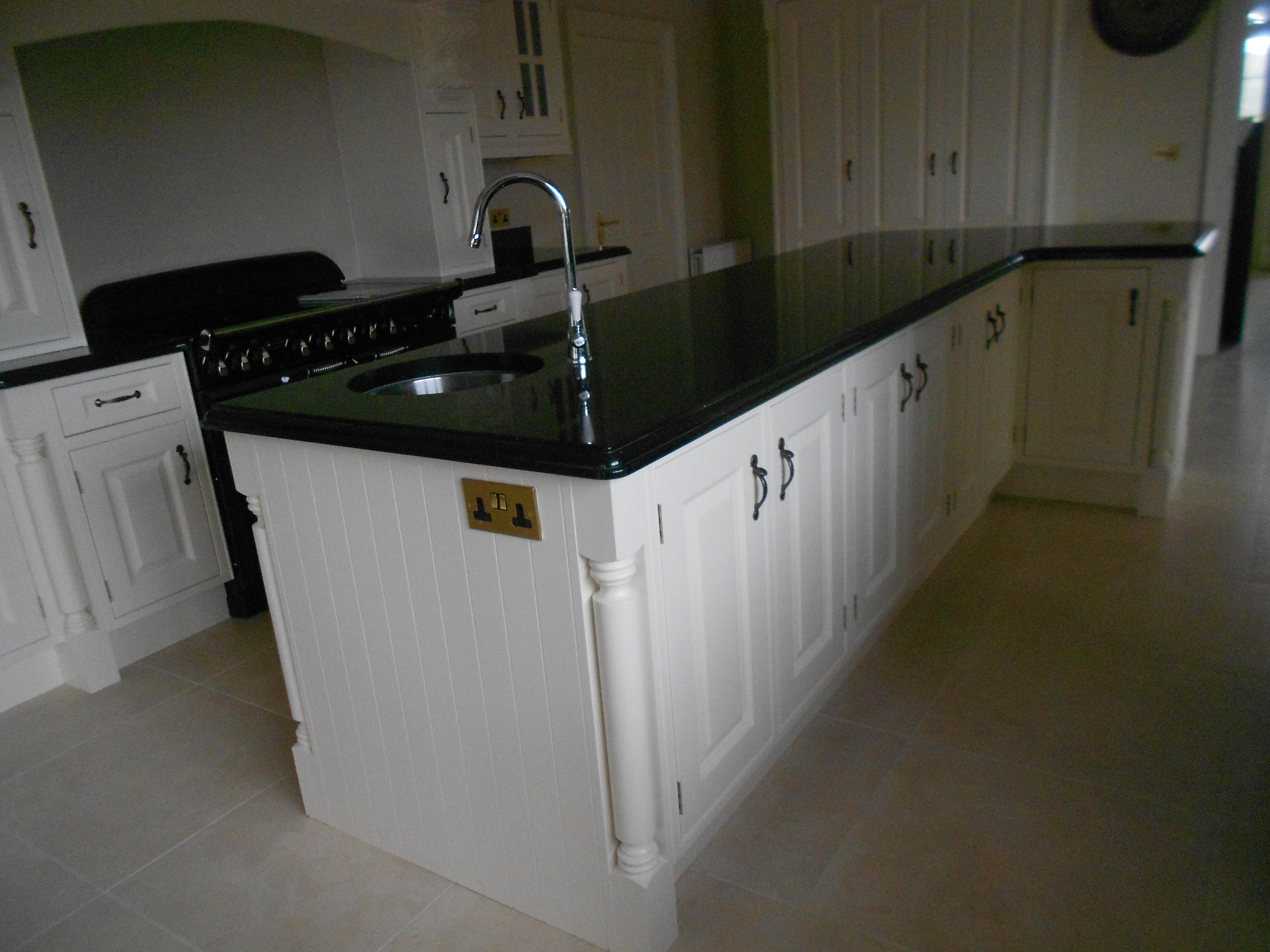 Kitchen Granite Island with Sink