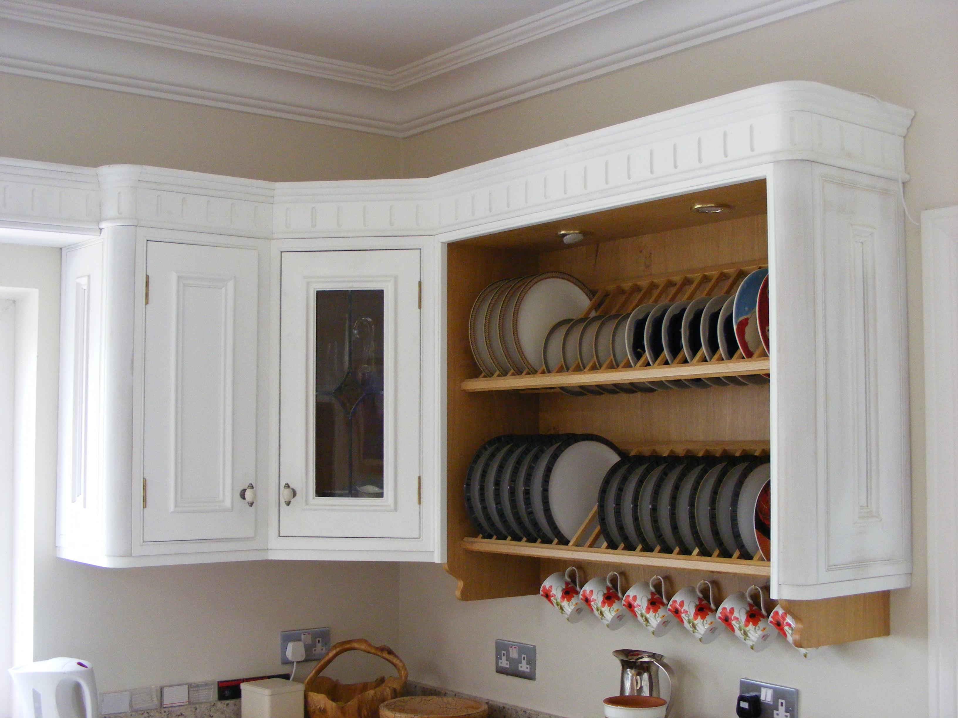 Kitchen Plate Rack